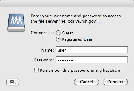 login/password