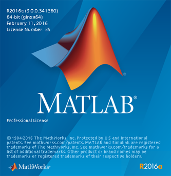 MATLAB splash image